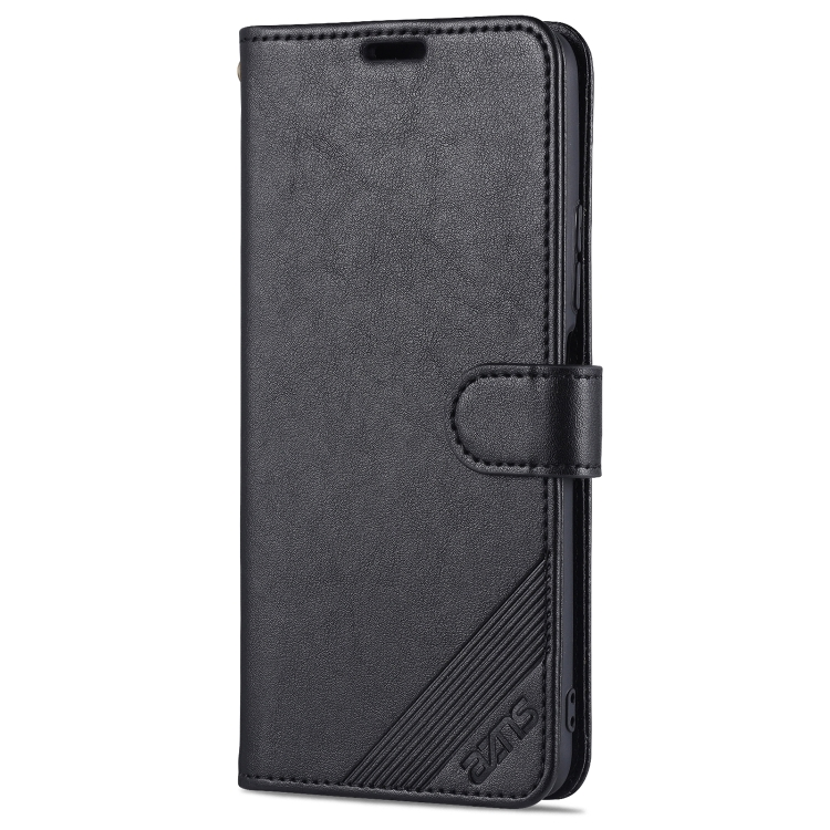 Чехол-книжка AZNS Sheepskin для Xiaomi Poco F3/Redmi K40/K40 Pro - черный