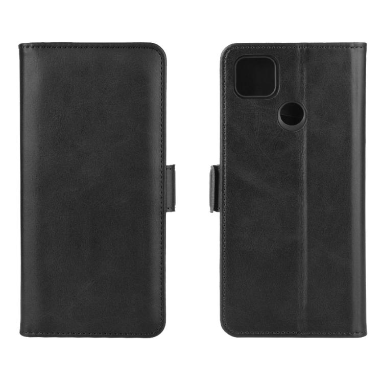 Чехол-книжка Dual-side Magnetic Buckle для Xiaomi Redmi 9C - черный