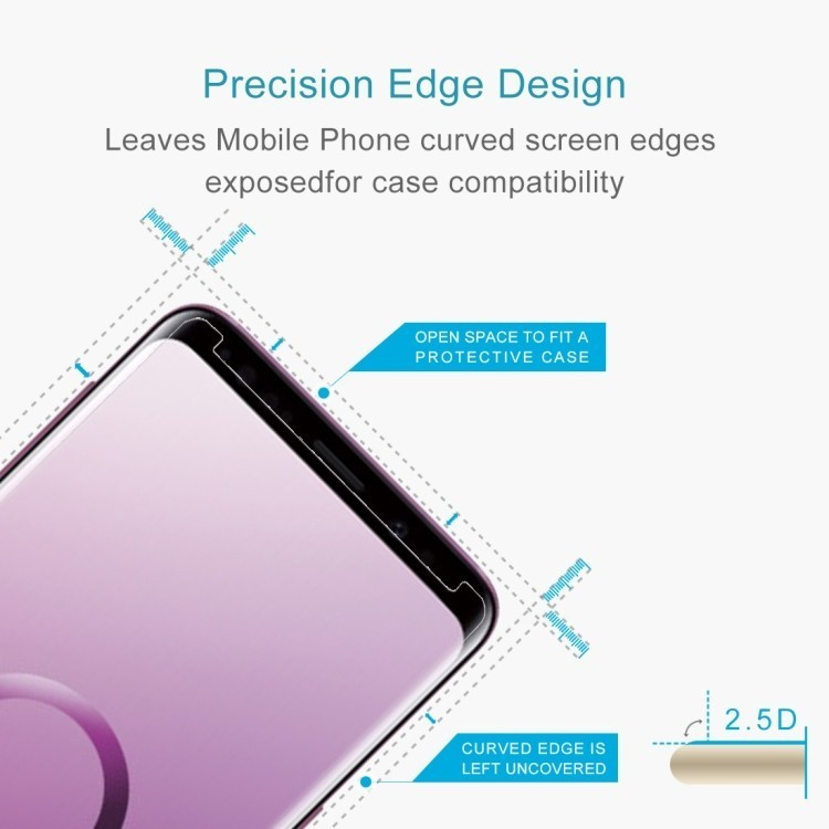 Защитное 2.5D стекло на Самсунг Галакси S9/ G960 9H Surface Hardness  Tempered Glass Front Screen Protector