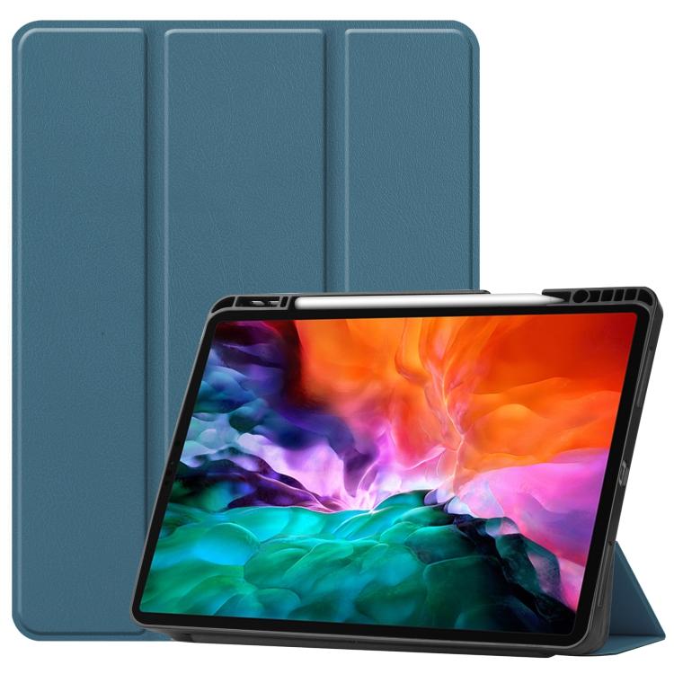 Чехол-книжка Honeycomb для iPad Pro 12.9 2021 - зеленый