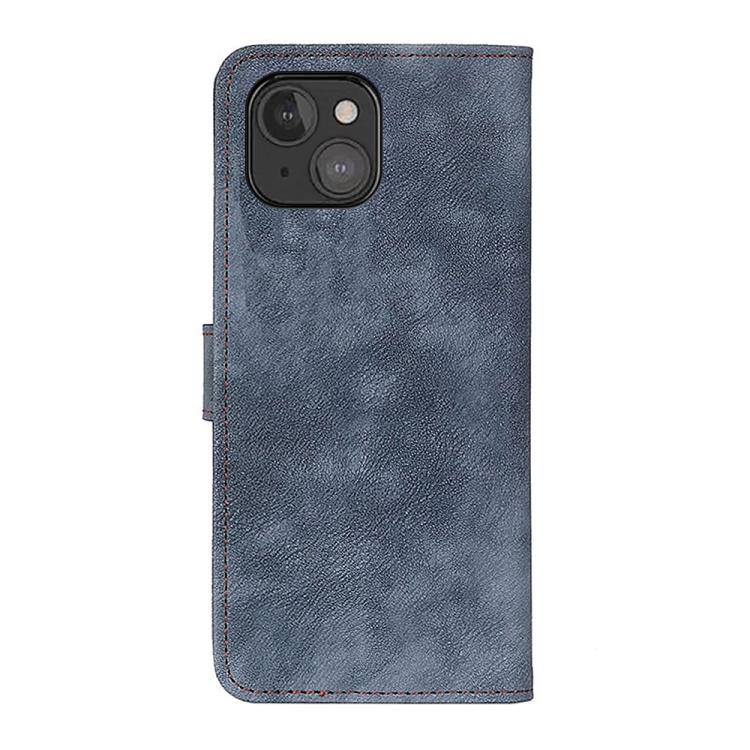 Чехол-книжка на Айфон 13 мини - синий