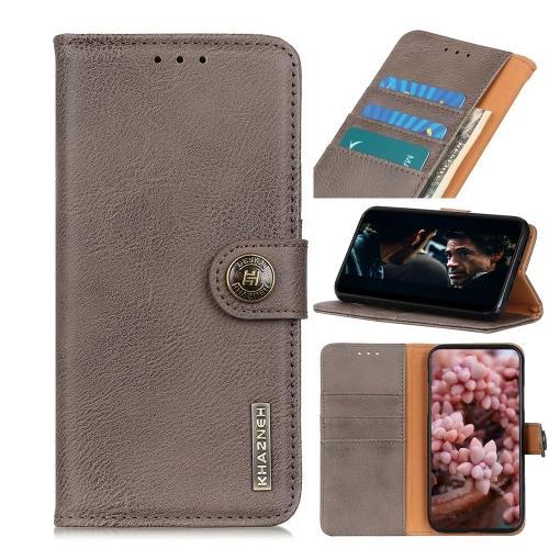 Чехол-книжка KHAZNEH Cowhide Texture на Samsung Galaxy A01 Core / M01 Core - хаки
