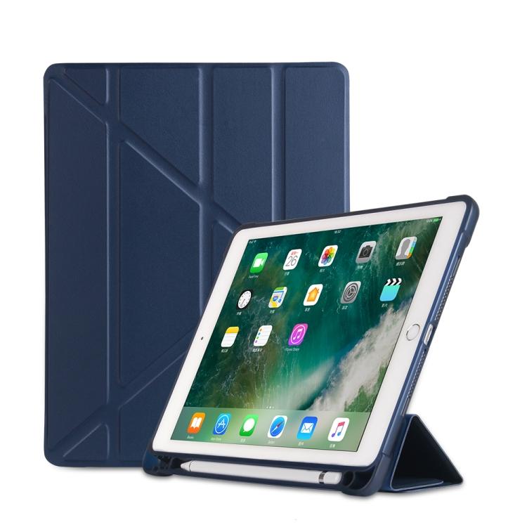 Чехол- книжка Multi-folding для iPad 9.7 (2018) / 9.7 (2017) / air / air2 - синий