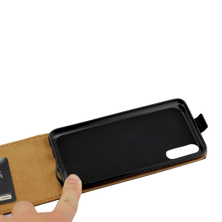Кожаный флип- чехол Business Style для  Samsung Galaxy A50/A30s/A50s- черный