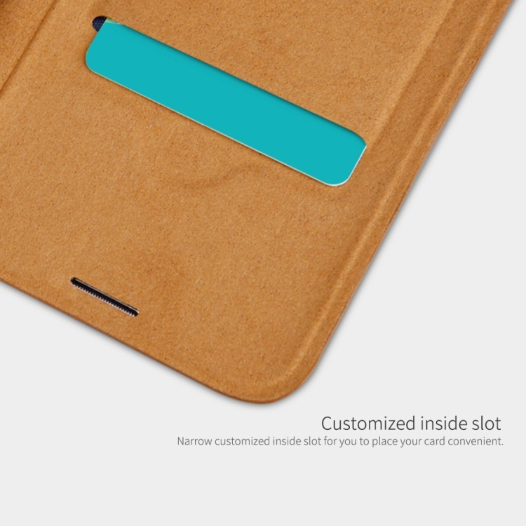 Чехол- книжка NILLKIN QIN Series на Samsung Galaxy S10 plus-белый