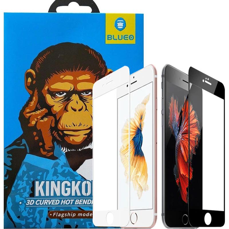 Защитное 3D стекло для Айфон 7 / 8 / SE  2020 - белое