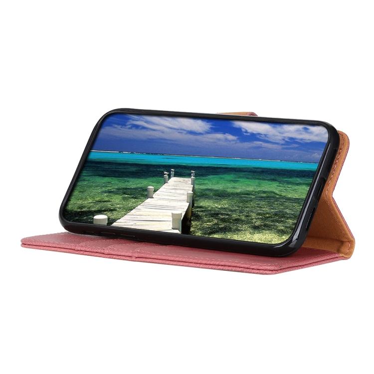 Чехол-книжка со слотами KHAZNEH Pink Cowhide для Xiaomi Mi 11 Pro 5G / 4G