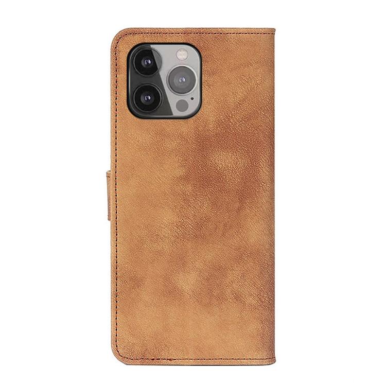 Чехол-книжка на Айфон 13 Про Макс- коричневый