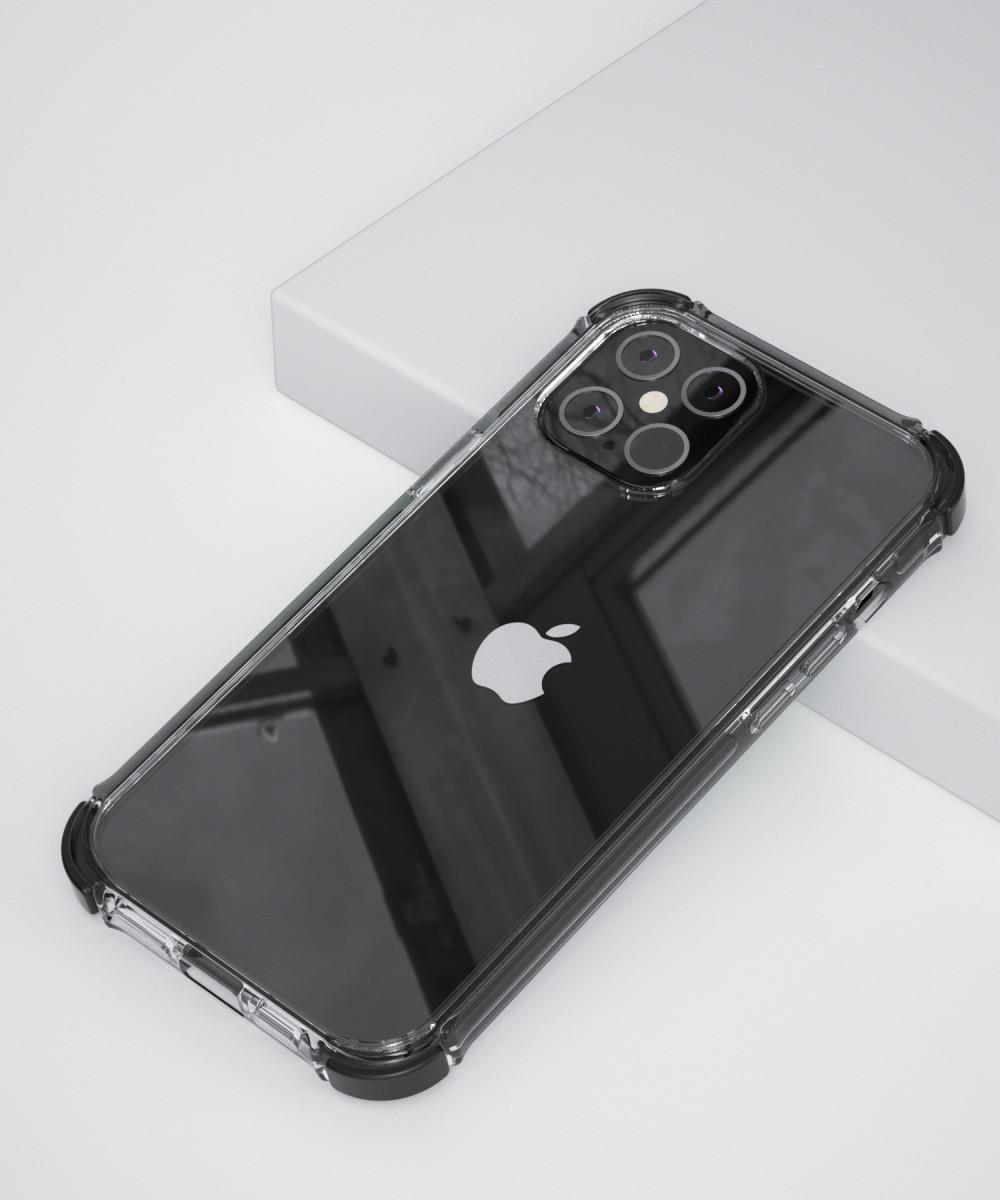 Чехол X-Fitted X-Defender Air Cushion Version для  iPhone 12 mini-черный