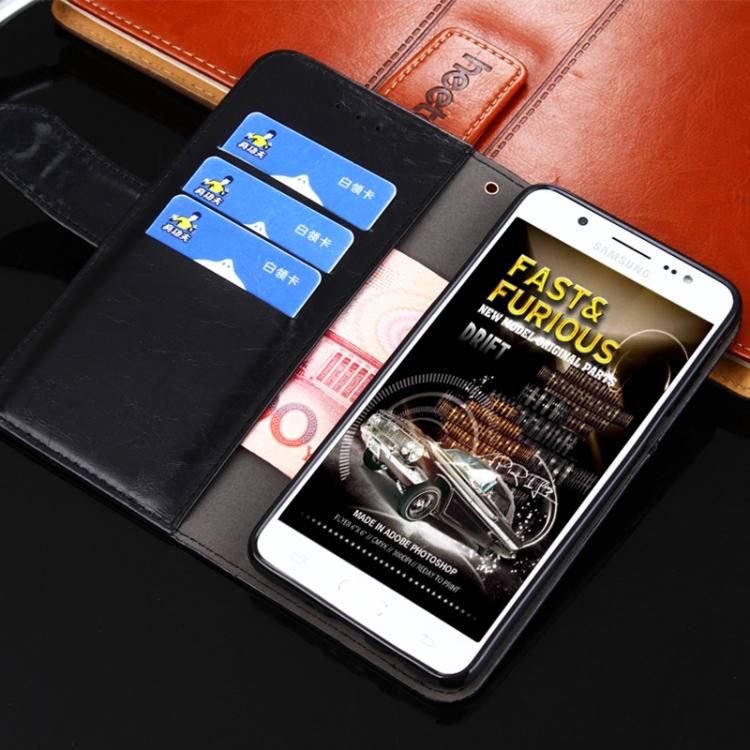 Чехол-книжка с слотами под кредитки черного цвета на Сяоми Редми 9Ц