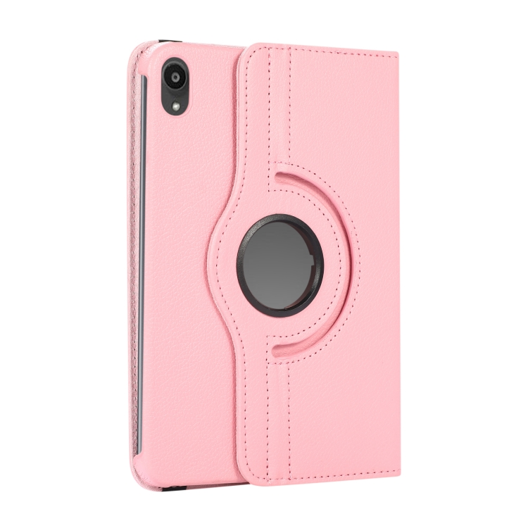 Розовый чехол-книжка со складывающейся подставкой на Айпад мини 6