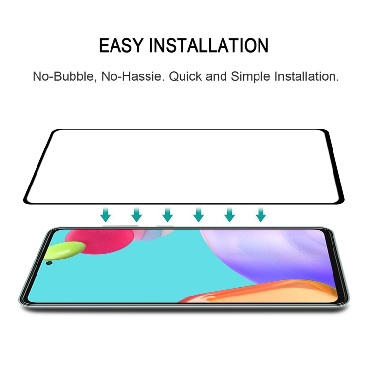 Стекло 3D Full Glue Full Screen на Самсунг A52