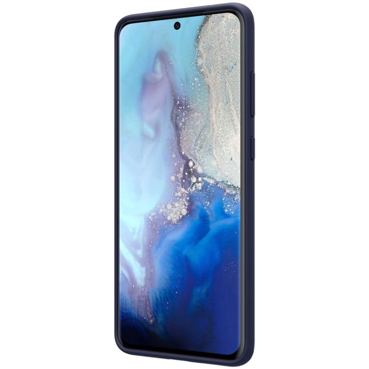 Защитный чехол NILLKIN Feeling Series для Samsung Galaxy S20 Ultra - синий