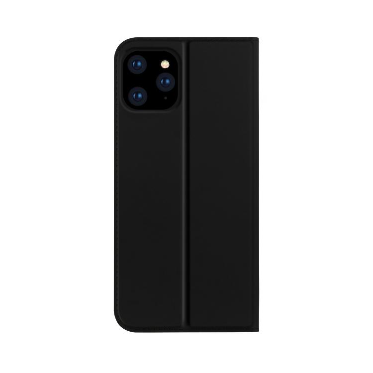 Черный чехол-книжка ISKIN Series на Айфон 12 Про Макс