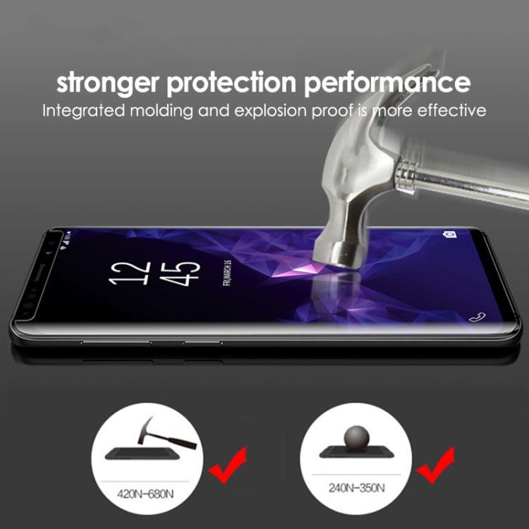 3Д защитное стекло UV Liquid Curved Full Glue Full Screen Tempered Glass для Айфон 11 Pro Max/XS Max