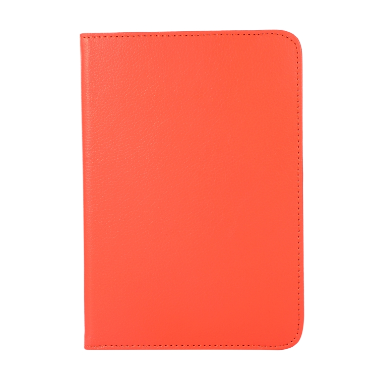 Чехол-книжка 360 Degree Rotation Litchi для iPad mini 6 - оранжевый