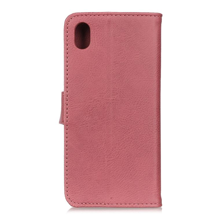Чехол-книжка KHAZNEH Cowhide Texture на Samsung Galaxy A01 Core / M01 Core - розовый