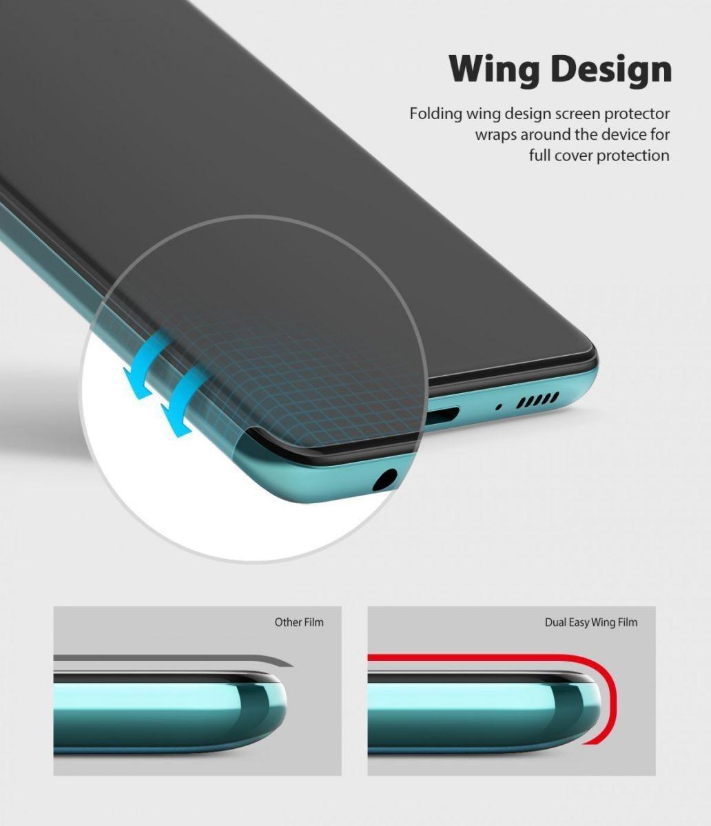 Защитная бронированная пленка Ringke Dual Easy Wing 2x на Самсунг Галакси A51