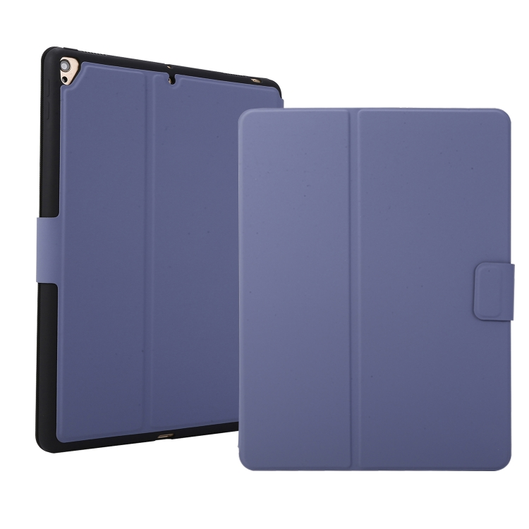 Чехол-книжка Electric Pressed Texture для iPad 10.2 2020 & 2019 / Air 2019 / Pro 10.5 - лавандовый