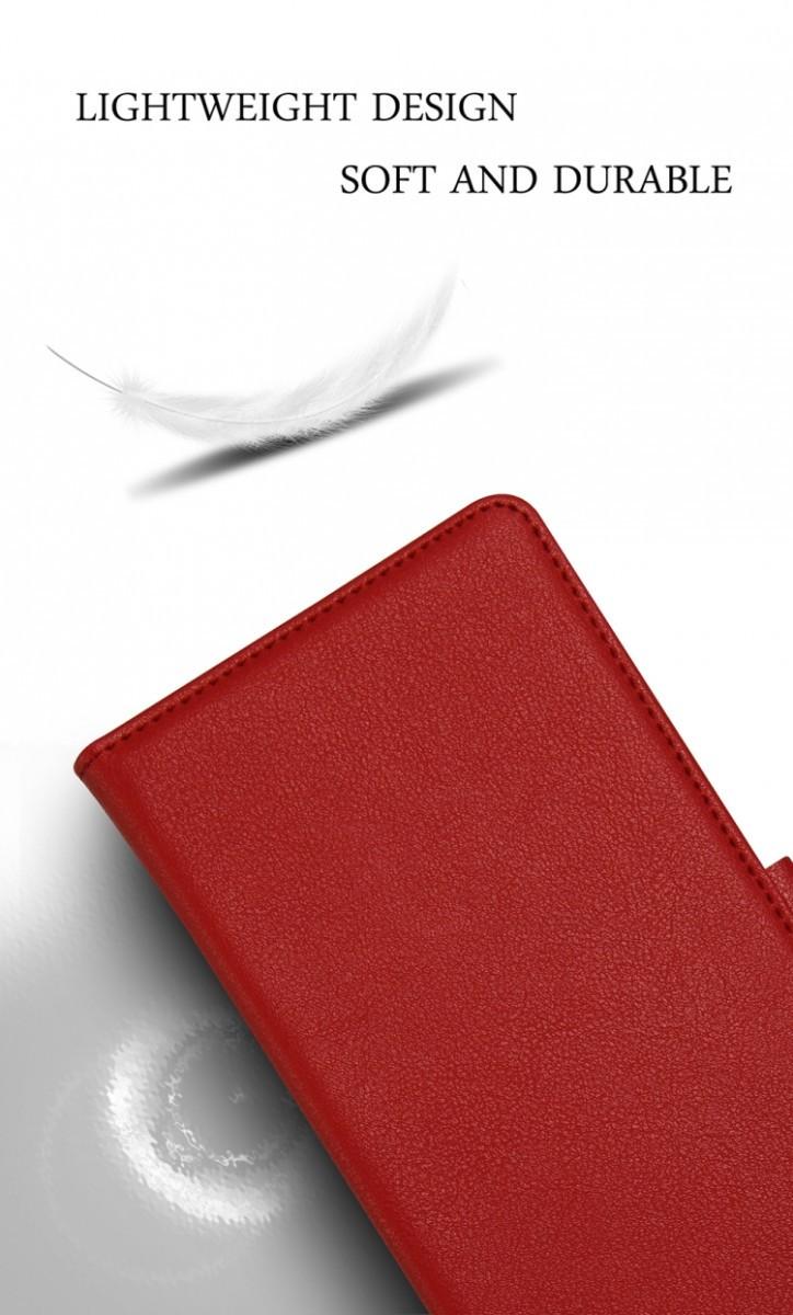 Чехол-книжка противоударный на Самсунг Гелекси С10 Плюс черного цвета