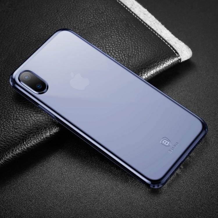 Чехол Baseus на iPhone X/Xs синий