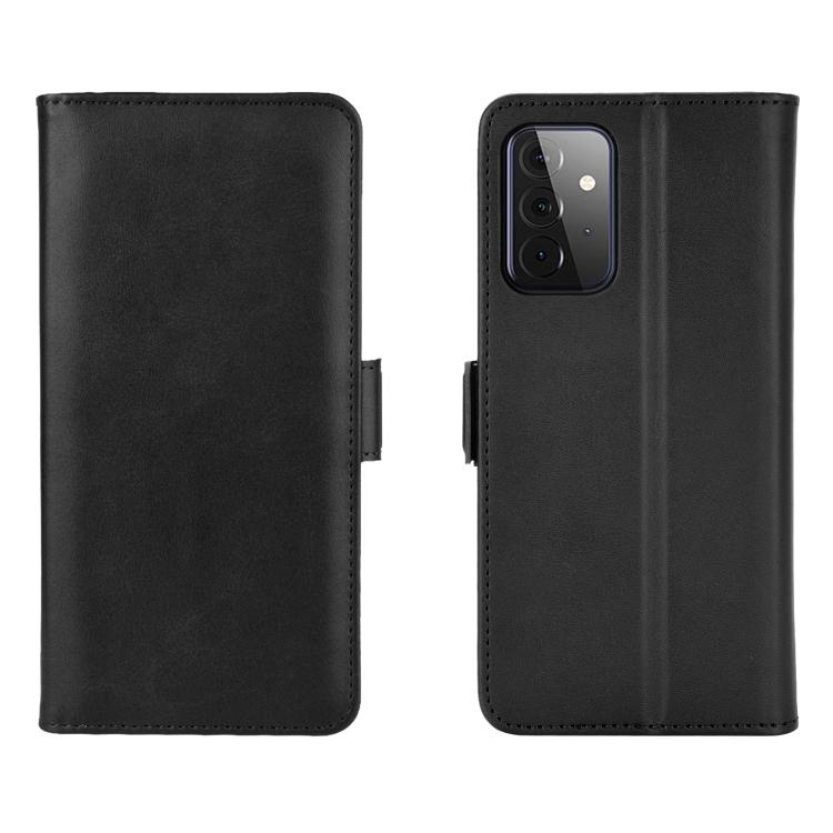Чехол-книжка Dual-side Magnetic Buckle для Samsung Galaxy A72 - черный