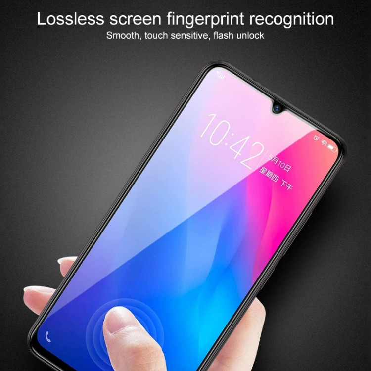 Защитное Стекло 9D Full Glue на весь экран на Samsung Galaxy A41 - черное