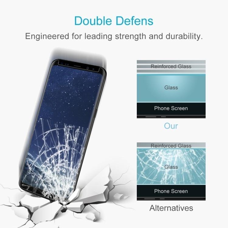 Защитное стекло на Samsung Galaxy S8