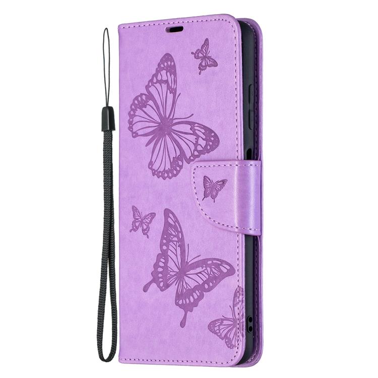 Фиолетовый чехол-книжка Pattern на Xiaomi Poco X3 Pro
