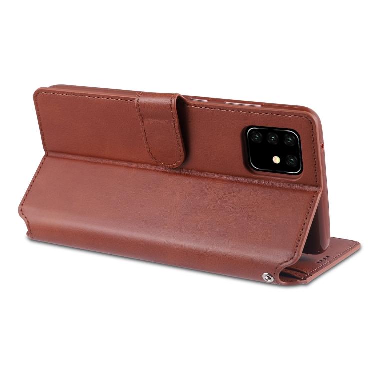 Кожаный чехол-подставка для Samsung A81/M60S/Note 10 Lite