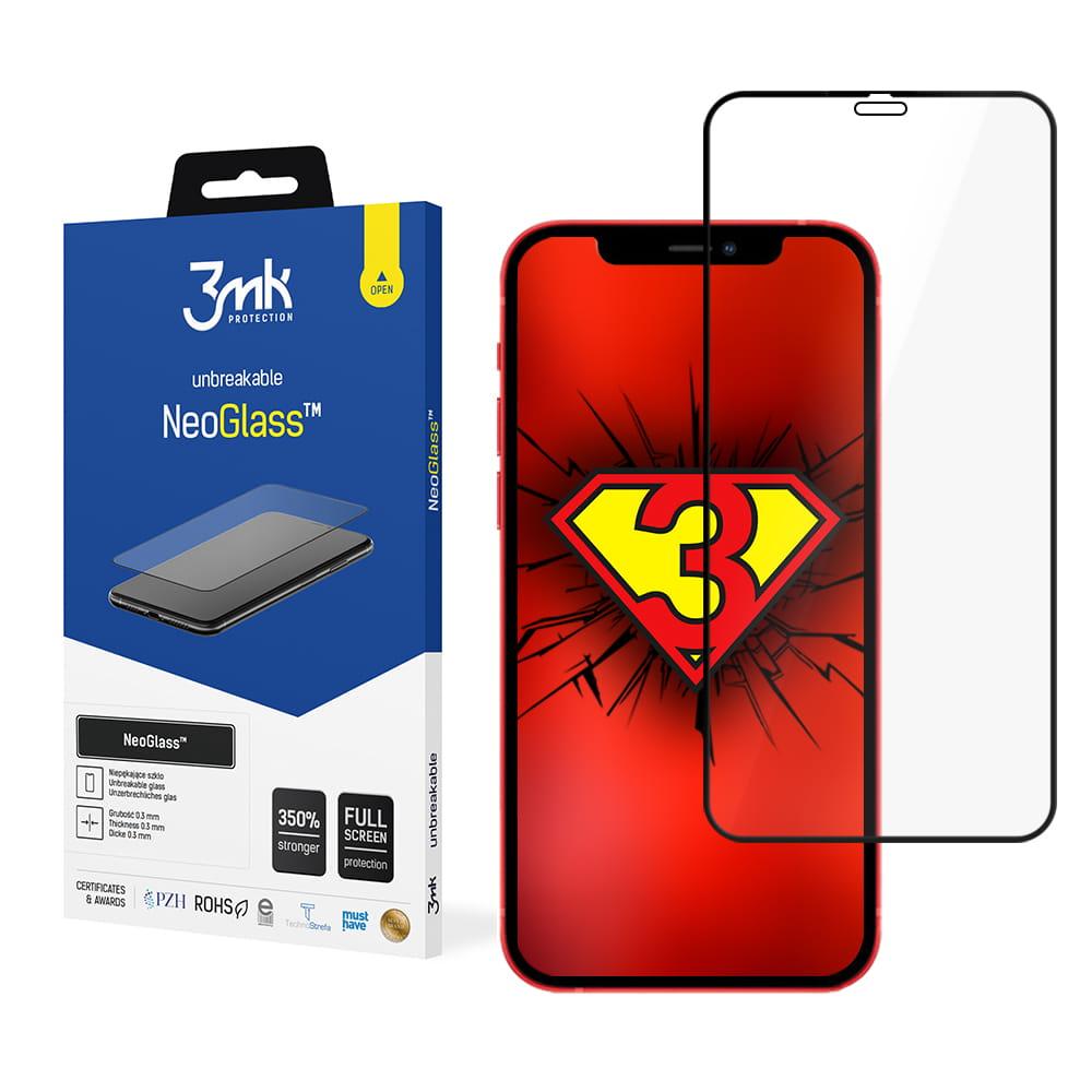Защитное стекло с черной рамкой для Айфон 12