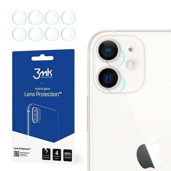 Защитное стекло на камеру для Айфон 12
