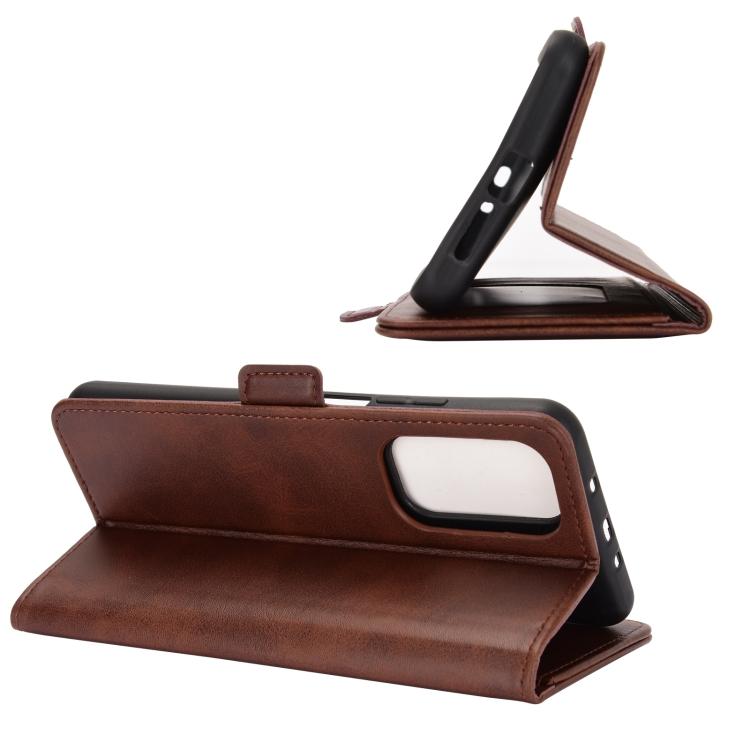 Чехол-книжка с складной подставкой для Сяоми Ми 10Т коричневый