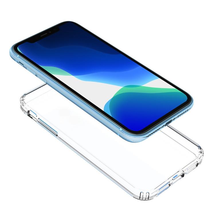 Акриловый чехол с антицарапающимся покрытием на iPhone 11-прозрачный