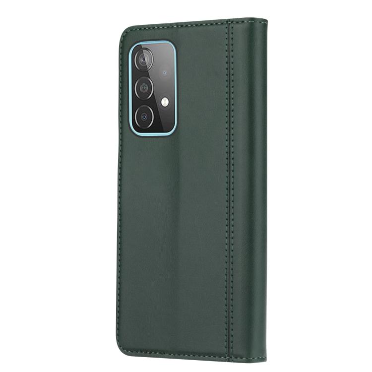 Чехол-книжка на Самсунг A72 - зеленый