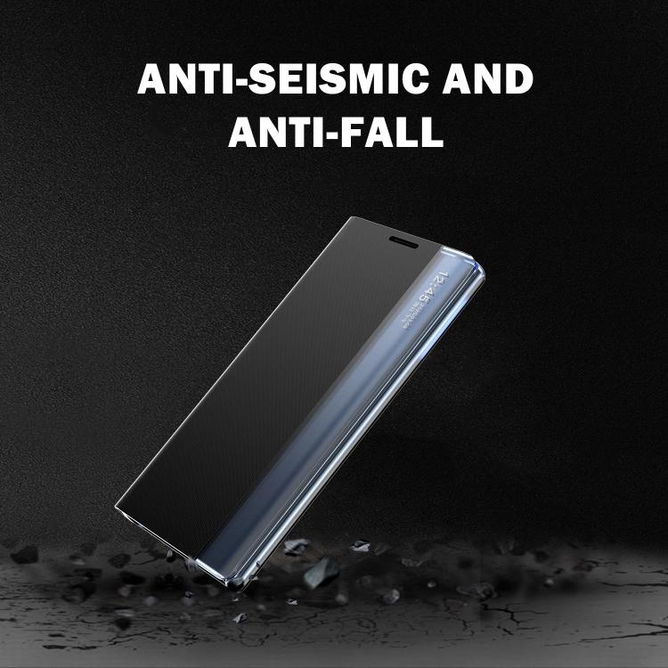 Чехол-книжка Clear View Standing Cover на Samsung Galaxy S10 - розовый