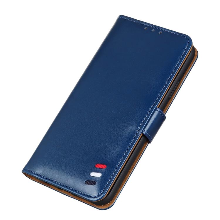 Чехол-книжка 3-Color Pearl на Айфон 13 - синий