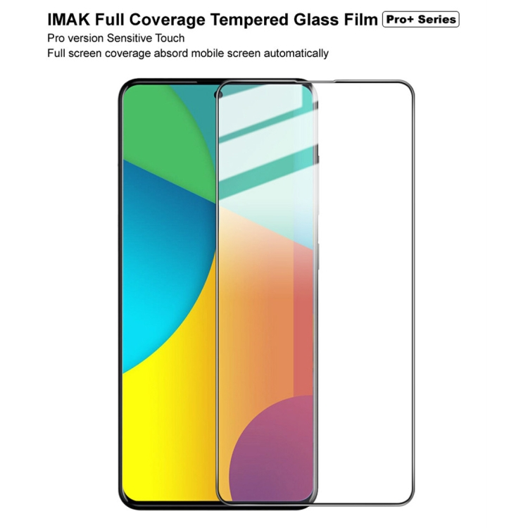 3d защитное стекло IMAK 9H Full Screen Tempered Glass Film Pro+ Version на Samsung Galaxy A51 -черное