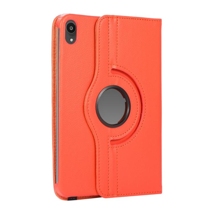 Чехол-книжка для Айпад мини 6 - оранжевый