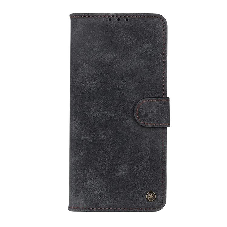 Чехол-книжка Antelope Texture на Xiaomi Redmi Note 10 /Note 10S  - черный