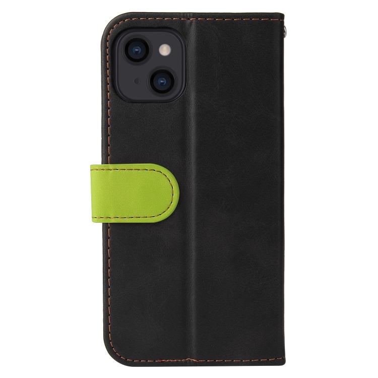 Чехол-книжка для Айфон 13 - зеленый