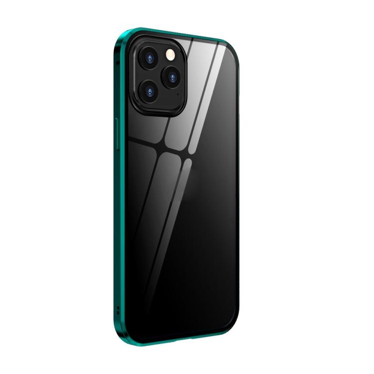 Зеленый чехол-книжка для Айфон 12 Про Макс