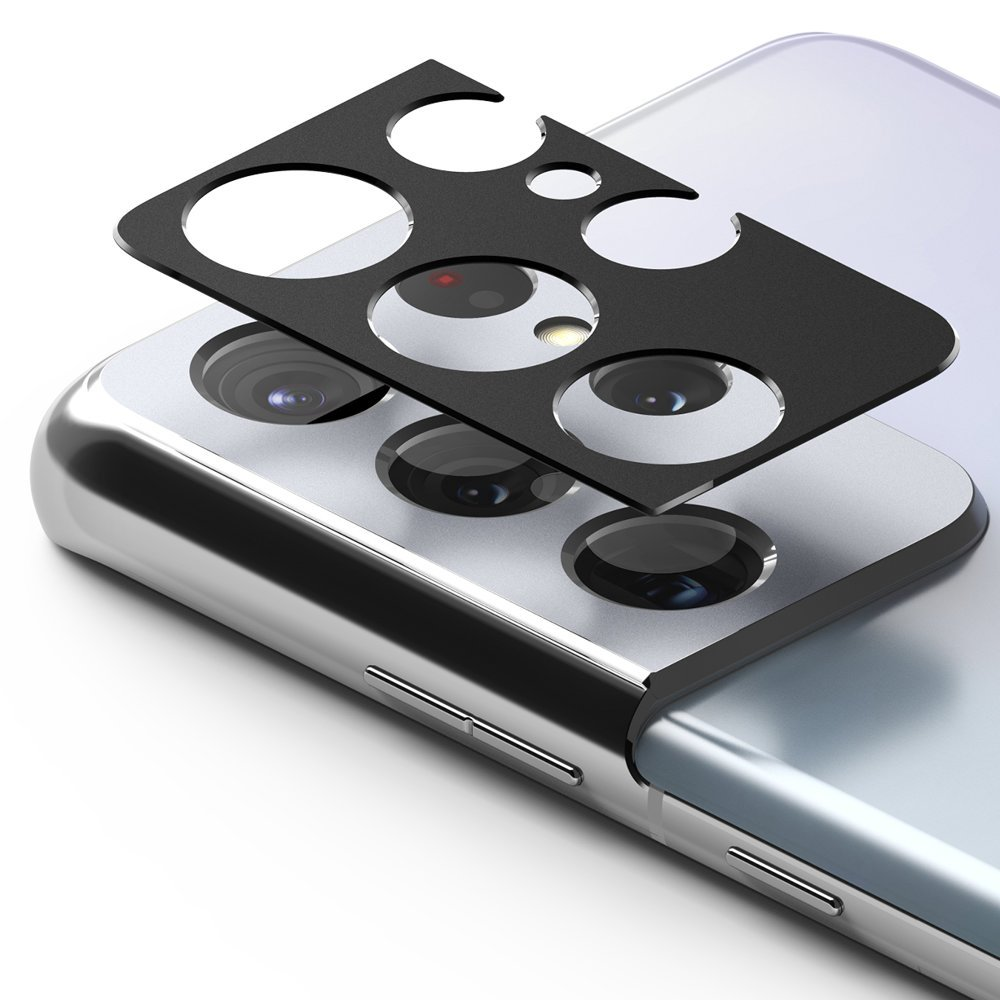 Защитное стекло на камеру Ringke Stylingr для Samsung Galaxy S21 Ultra black