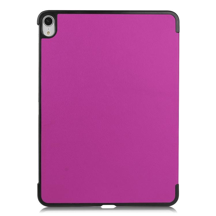 Фиолетовый чехол-книжка с черной рамкой для Айпад Аир 4 10.9