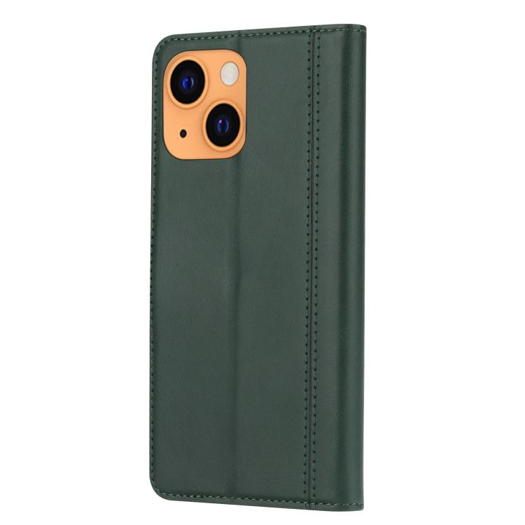 Чехол-книжка на Айфон 13 mini - зеленый