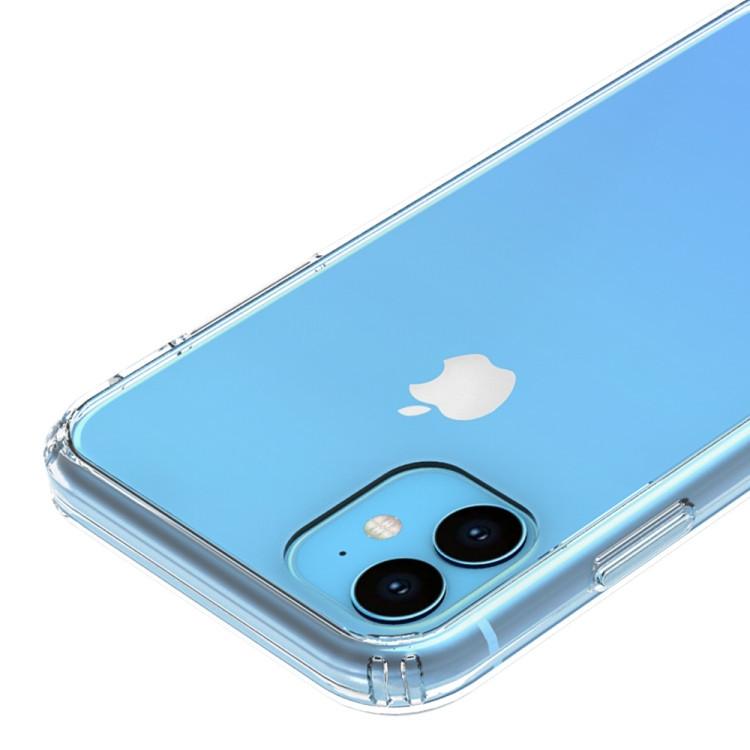 Акриловый чехол с антицарапающимся покрытием для Айфон 11-прозрачный