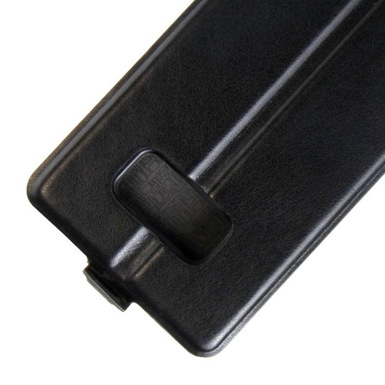 Кожаный флип- чехол   для  Samsung Galaxy S8/G950-черный
