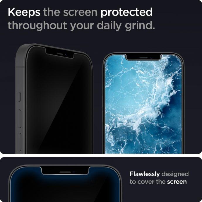 Защитное без рамочное стекло для Айфон 12