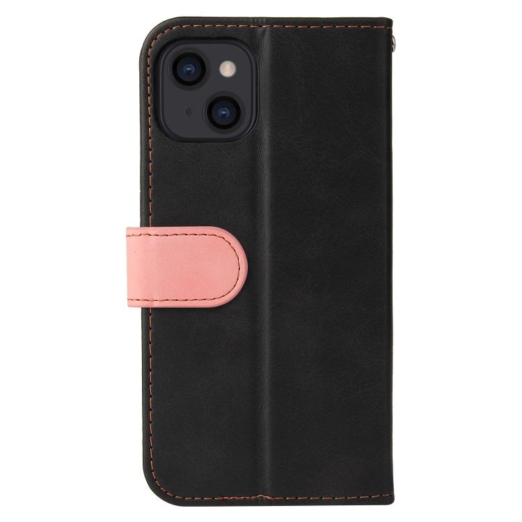 Чехол-книжка для Айфон 13 - розовый
