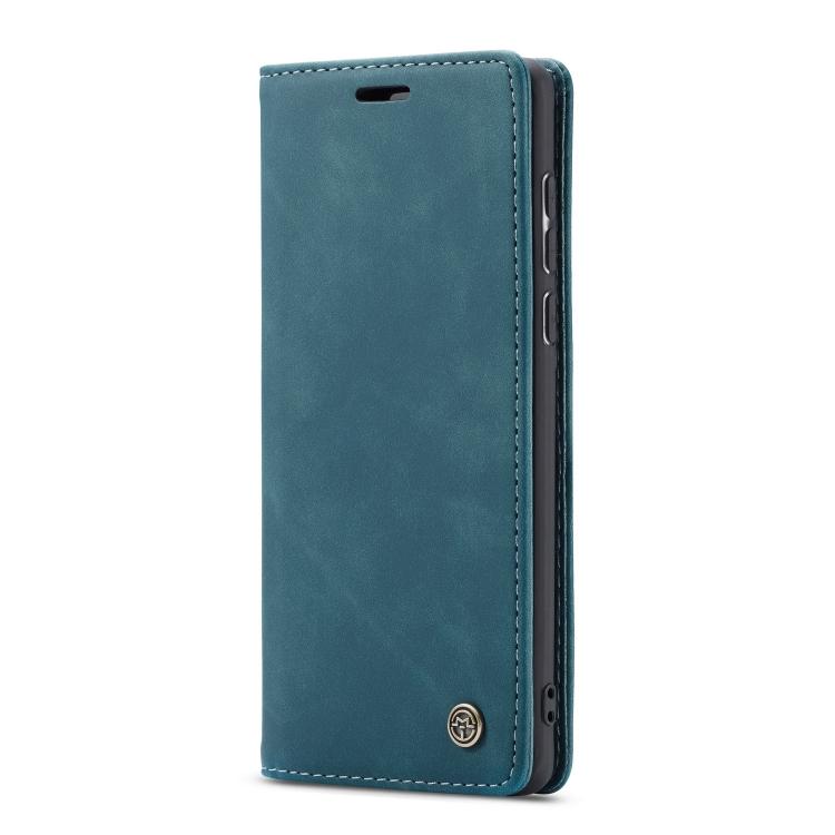 Кожаный темно-синего цвета для Самсунг Гелекси А71